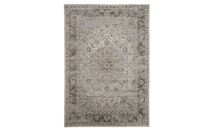 R401722 KYAN MEDIUM RUG/KYAN/BLUE/IVORY