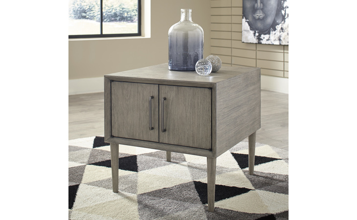 T772-3 ASTERSON RECTANGULAR END TABLE/ASTERSON