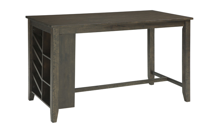 D397-32 ROKANE RECT COUNTER TABLE W/STORAGE