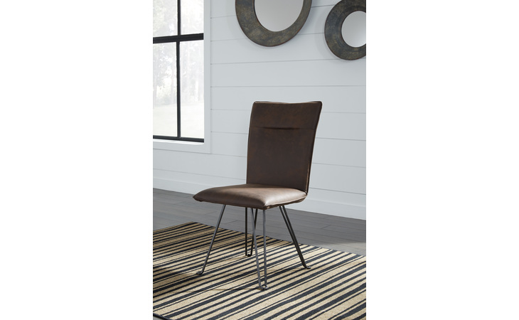 D376-01 MODDANO DINING UPH SIDE CHAIR (2/CN)