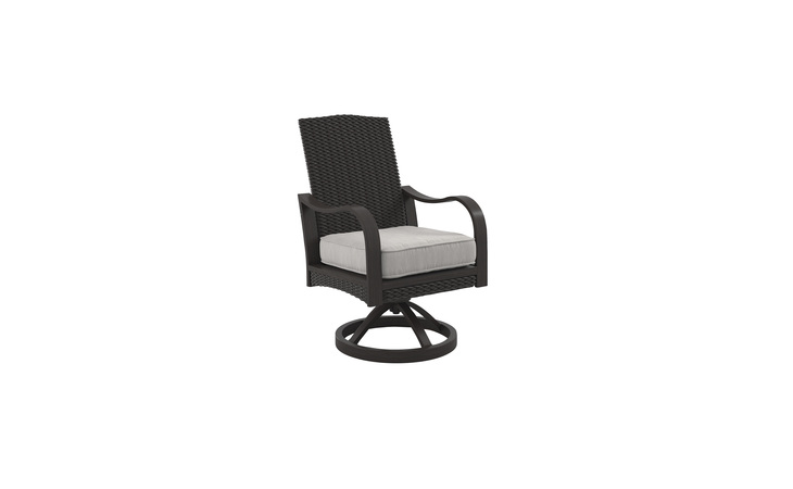 P775-602A MARSH CREEK SWIVEL CHAIR W/CUSHION (2/CN)