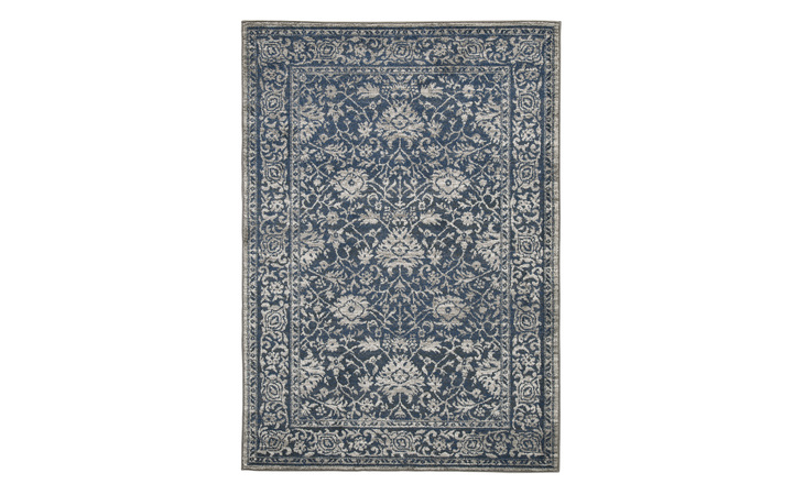 R403301 MAXTON LARGE RUG/MAXTON/BLUE/GRAY