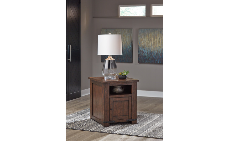 T372-3 BUDMORE RECTANGULAR END TABLE/BUDMORE