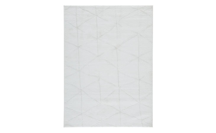 R402371 SCARRIT LARGE RUG/SCARRIT/WHITE