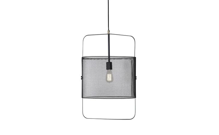 104875 JAGO JAGO PENDANT LIGHT - LARGE - BLACK