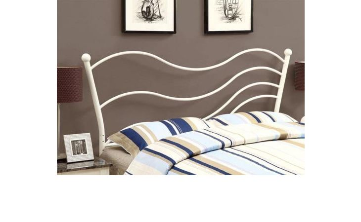 I2655Q  WHITE QUEEN   FULL SIZE COMBO HEADBOARD OR FOOTBOARD ONLY  PG.110