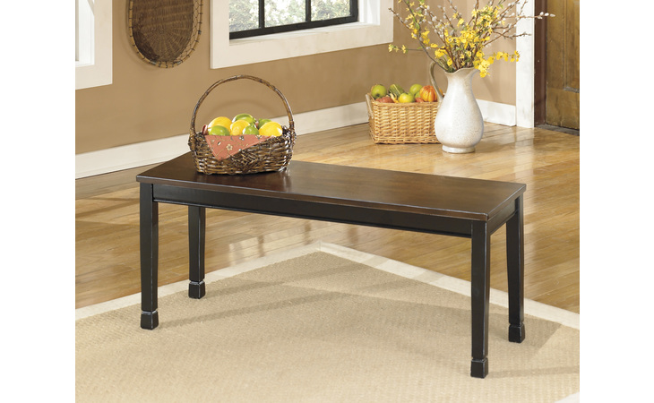 D580-00 OWINGSVILLE LARGE DINING ROOM BENCH