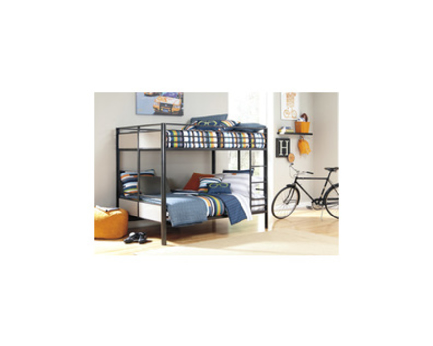 B109-58 NOTELLY FULL FULL METAL BUNK BED