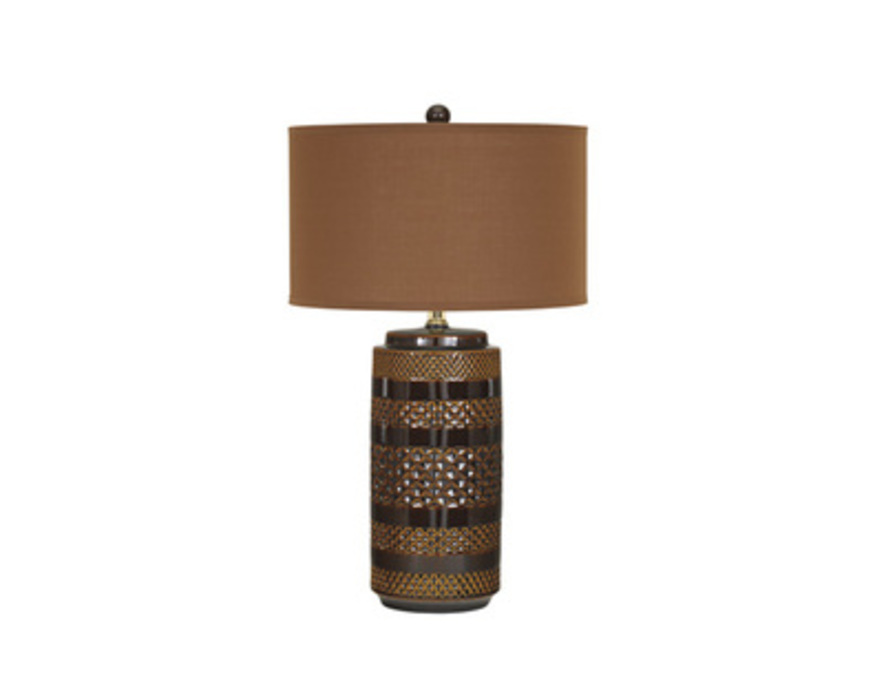 L126084 SHADEENA CERAMIC TABLE LAMP (2 CN)
