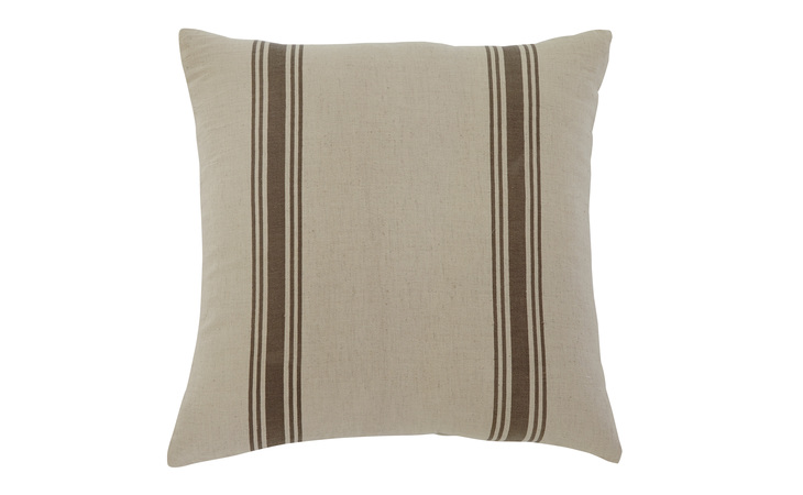 A1000307 STRIPED PILLOW (4/CS) STRIPED NATURAL ACCENTS