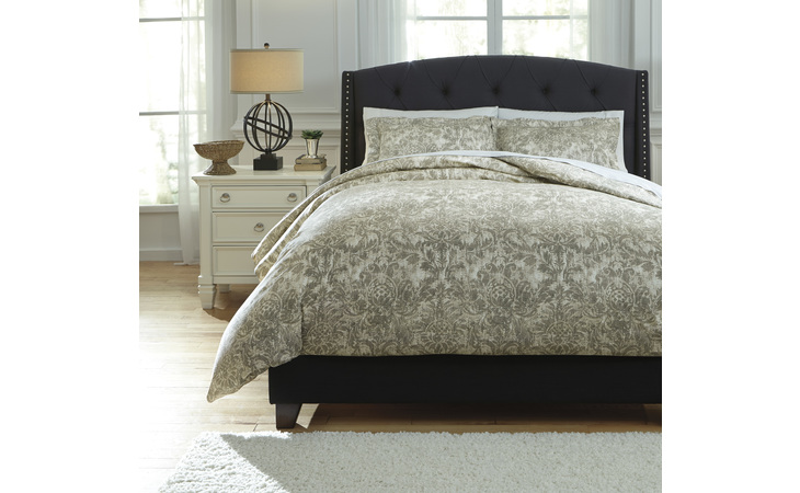Q751003Q KELBY QUEEN DUVET COVER SET/KELBY