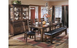 D442-45 LARCHMONT - BURNISHED DARK BROWN